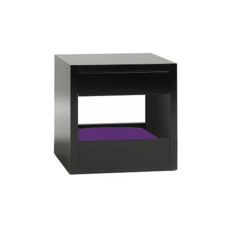 Bloq Pet Bed & Side Table - Black 11