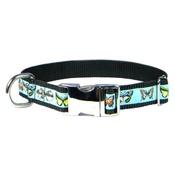 CanineAllStars - Butterflies Dog Collar – Black