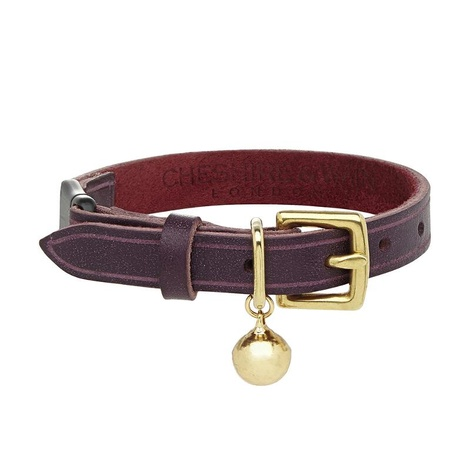 Bernie - Heritage Purple Cat Collar