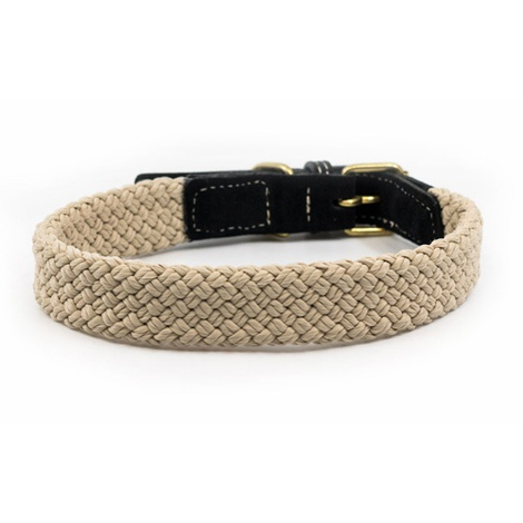 Rope collar (flat) - BLACK 2