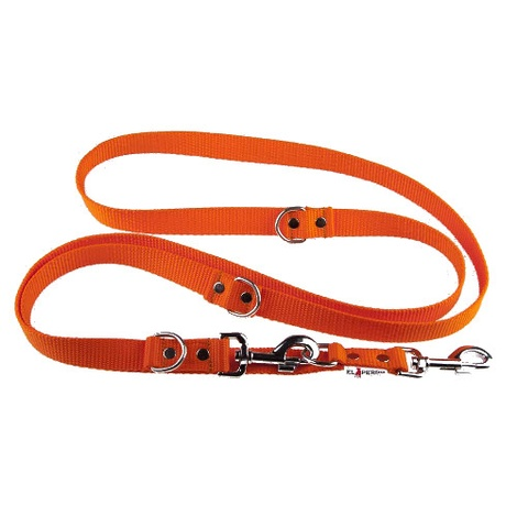 Adjustable Juicy Style Dog Lead - Orange