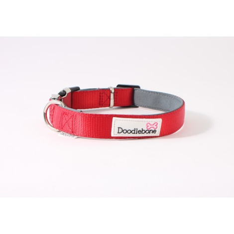 Bold Padded Collar - RED