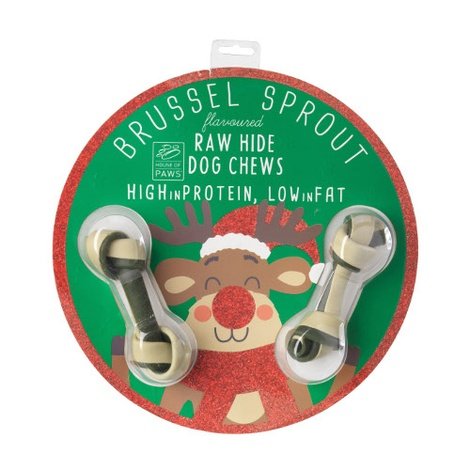 Bauble with Dog Bone - Brussell Sprout