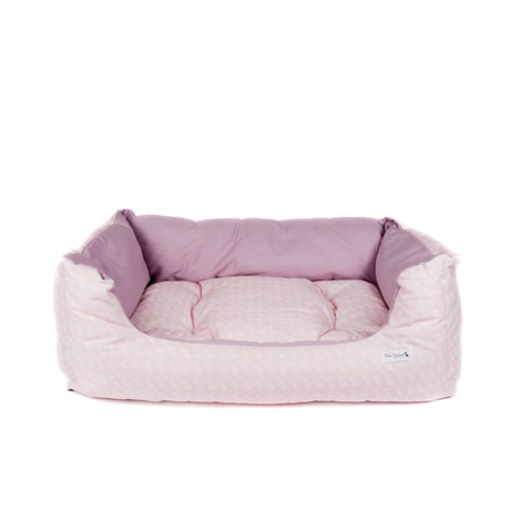 Teddy Maximus Pink Slumber Dog Bed