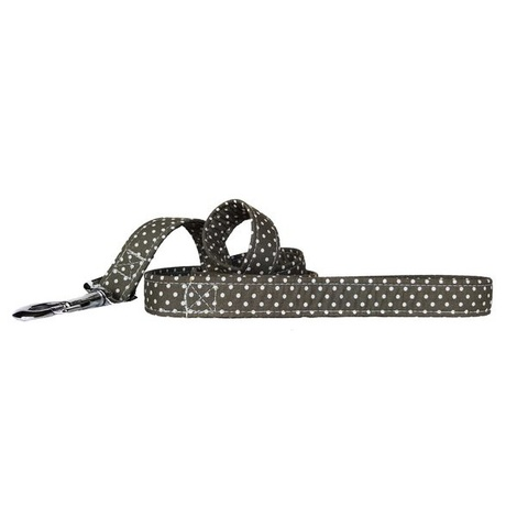 Grey Spot Dog Lead