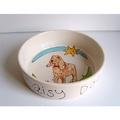 Large Personalised Dog Bowl 9