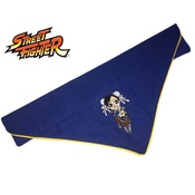 Zukie Style - Chibi Arcade Chun-Li Dog And Cat Bandana