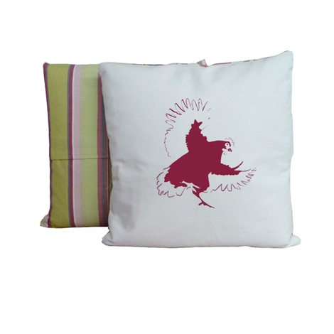 Chicken Stripe Cushion