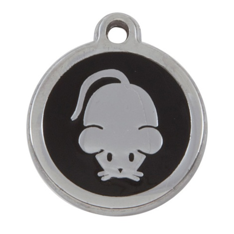 My Sweetie Black Mouse Pet ID Tag