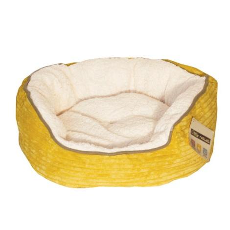 Sweet Dreams Donut Pet Bed – Yellow