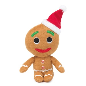 Gingerbread Man Christmas Dog Toy