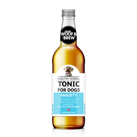 Woof & Brew Anxiety Herbal Tonic (330ml)