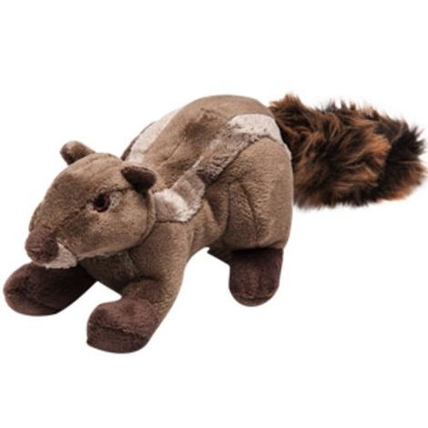 Fluff & Tuff Plush Dog Toy – Peanut the Chipmunk