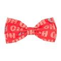 HO HO Christmas Bow Tie 3