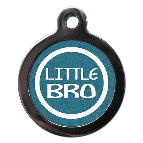 Little Bro Pet ID Tag
