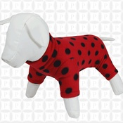 Pawberry - Dog Onesie by Pawberry - Red