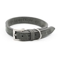 Nubuck dog collar - Garda