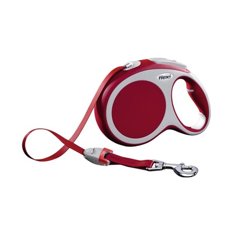 VARIO Large Retractable Lead 8m - Red