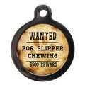 Wanted For Slipper Chewing Pet ID Tag