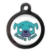 PS Pet Tags - Barking Dead Dog ID Tag