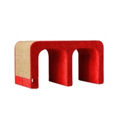 Catworks - Scratching Post - Letter M - Red