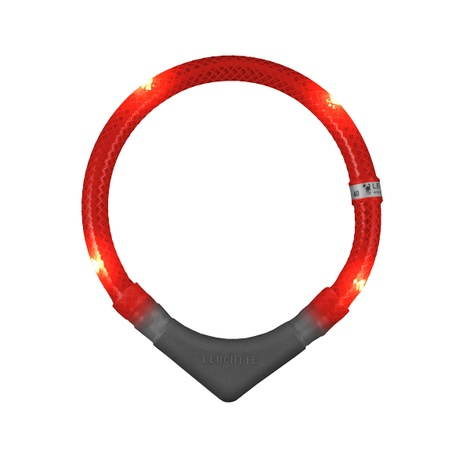 Leuchtie Plus LED Collar - Red