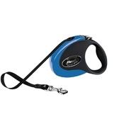 Flexi - Flexi Collection Retractable Dog Lead – Blue & Black