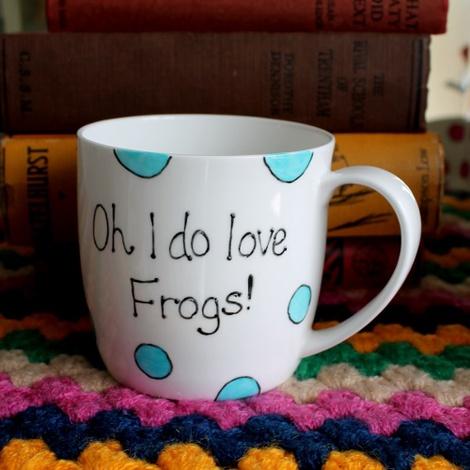 Oh I Do Love Frogs Mug 2