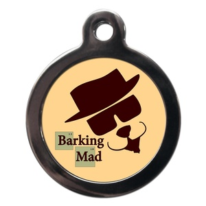 Barking Mad Dog ID Tag