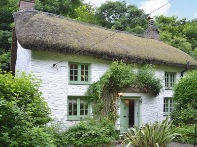 George's Cottage, Devon, Buck's Mills