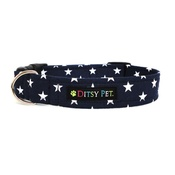 Ditsy Pet - Midnight Star Dog Collar