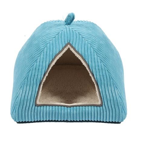 Little Rascals Cat Igloo – Blue