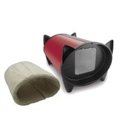 KatKabin - DezRez Premium Outdoor Cat House - Starlet Red