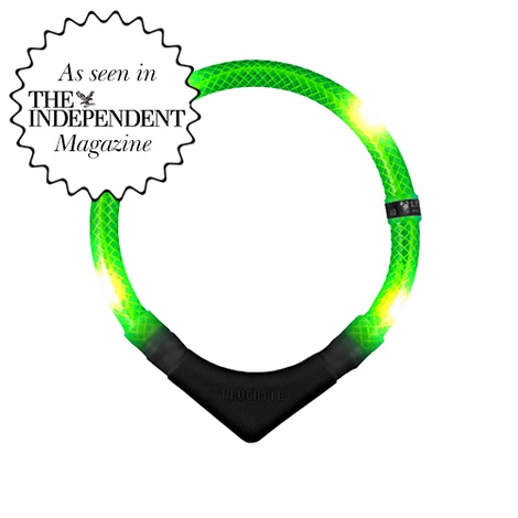 Premium Leuchtie LED Collar - Neon Green
