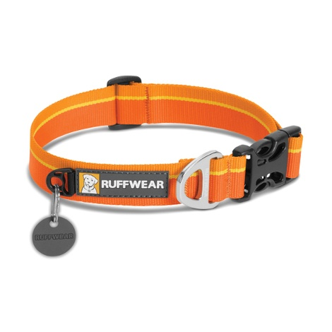 Hoopie Dog Collar - Orange Sunset