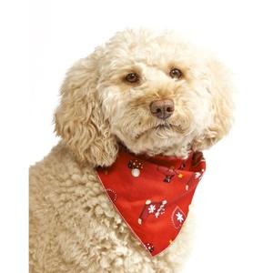 Santa's Wish Dog Bandana