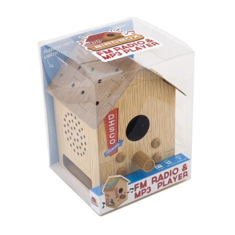 Bird Box Disco - Radio and Speakers