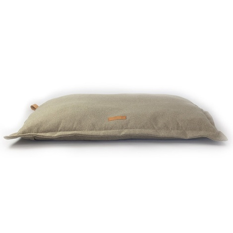 Stonewashed fabric cushion bed - Hammersmith 2