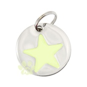 K9 - K9 Glow in the Dark Star Dog ID Tag
