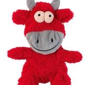 FuzzYard -  Jordan the Bull Flat Out Dog Toy
