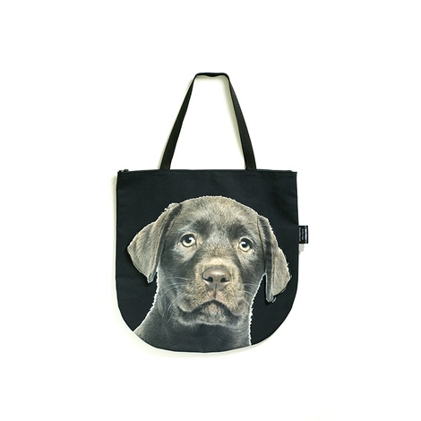 Bino the Chocolate Labrador Puppy Dog Bag