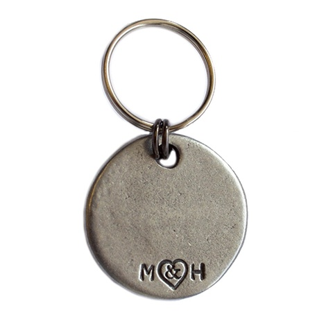 Free Kisses Given Slogan Dog ID Tag 3