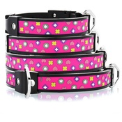 Cool Dog Club - Cool Dog K9 Striker MK1 Charm Pink Dog Collar