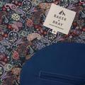 Kensington Dog Trench Coat – Royal Blue & Liberty Karm 5
