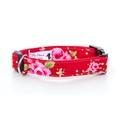 """Red Vintage Dog Collar 1"""" Width"""