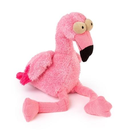 Flo the Flamingo Dog Toy