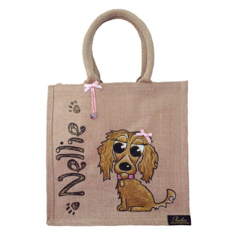 Bespoke Poochini Original Bag - Natural 2