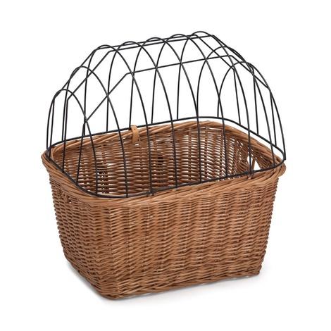 Wicker Pet Basket for Bikes