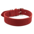 Nubuck dog collar - Como 3