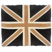 Creature Clothes - Cat Nappa Union Jack – Tan/Brown